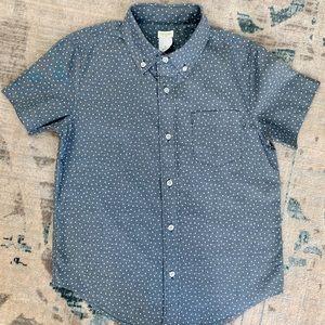 JCREW Boys' Button Down Chambray Shirt